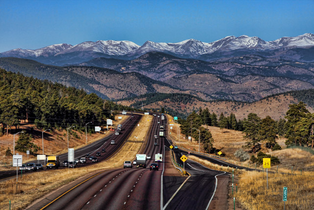 Highway to the high country