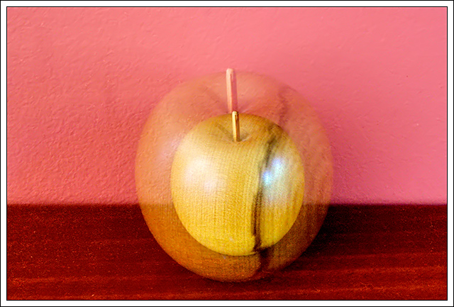 """Apple core"" - a painter's perspective"