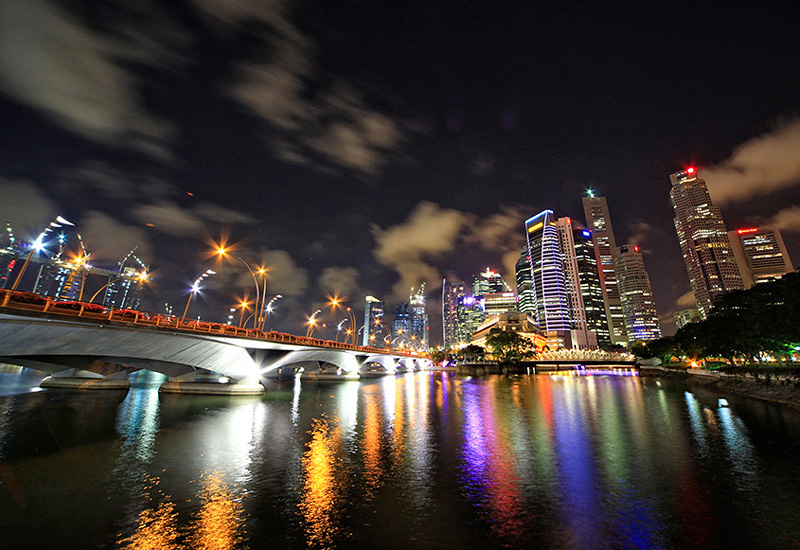 Along the Singapore River