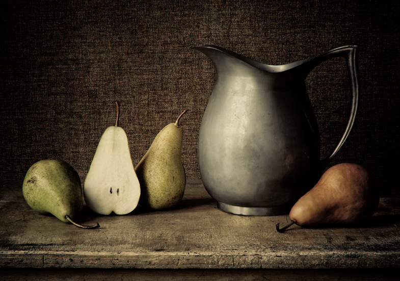 Pears and Pitcher