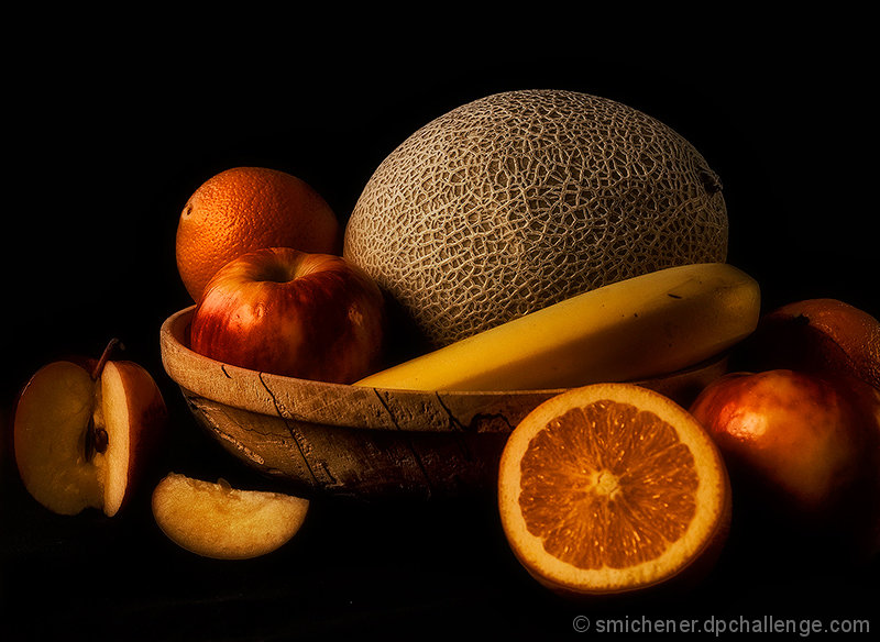 Fruit by Candlelight