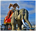 """Lucy the Elephant"" - Built 1882 - National  Historic Landmark"