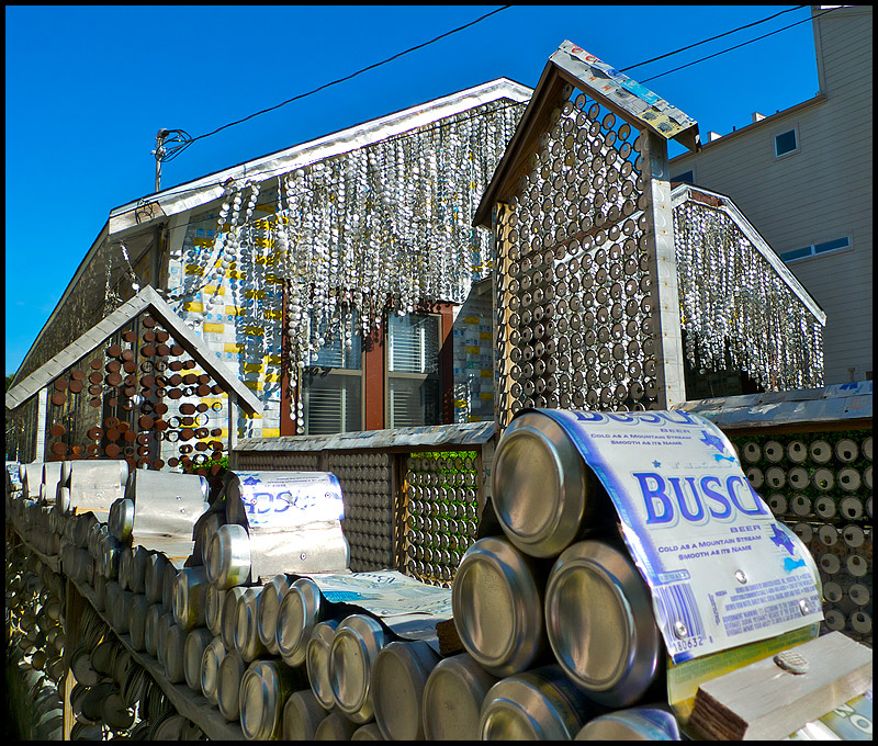 The 50,000 Beer Can House