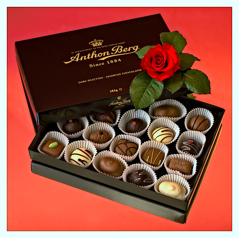 Anthon Berg - The way to a woman's heart