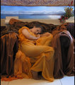 Flaming June by Lord F. Leighton