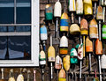 Buoys On the Clam Shack Wall