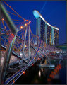 Marina Sands and the Helix Bridge