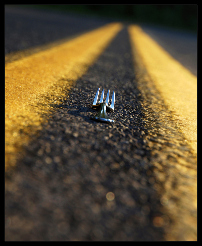 """If you come to a fork in the road, take it!""   -Yogi Berra"