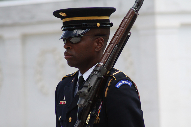 Serious Business - Guarding Unknown Soldier's Tomb