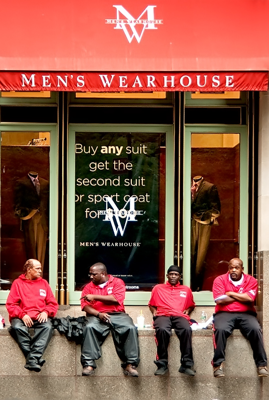 Men's Warehouse?