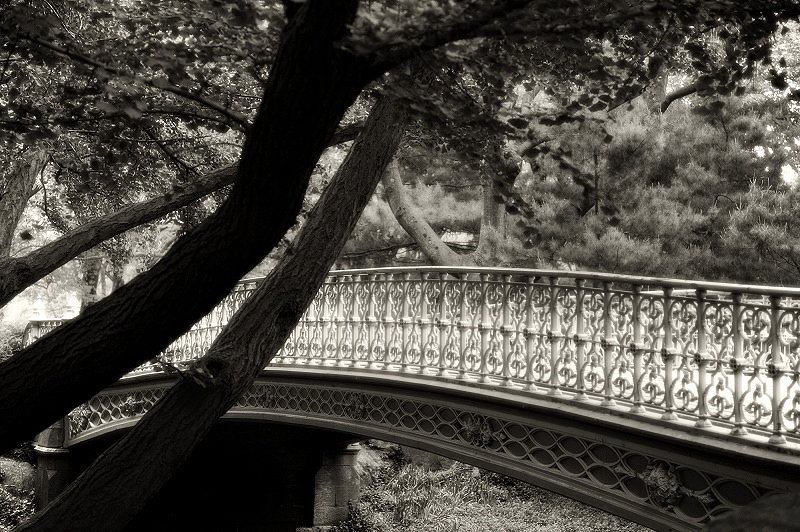 Cast Iron Footbridge
