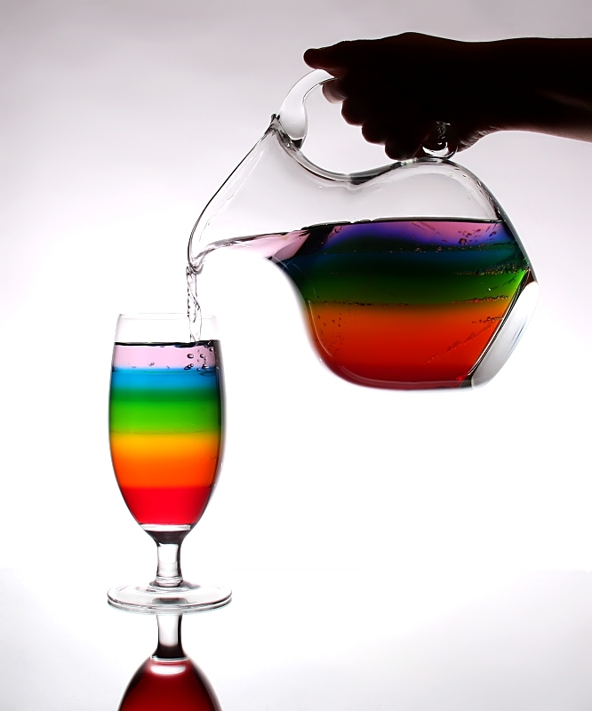 Pouring a Rainbow