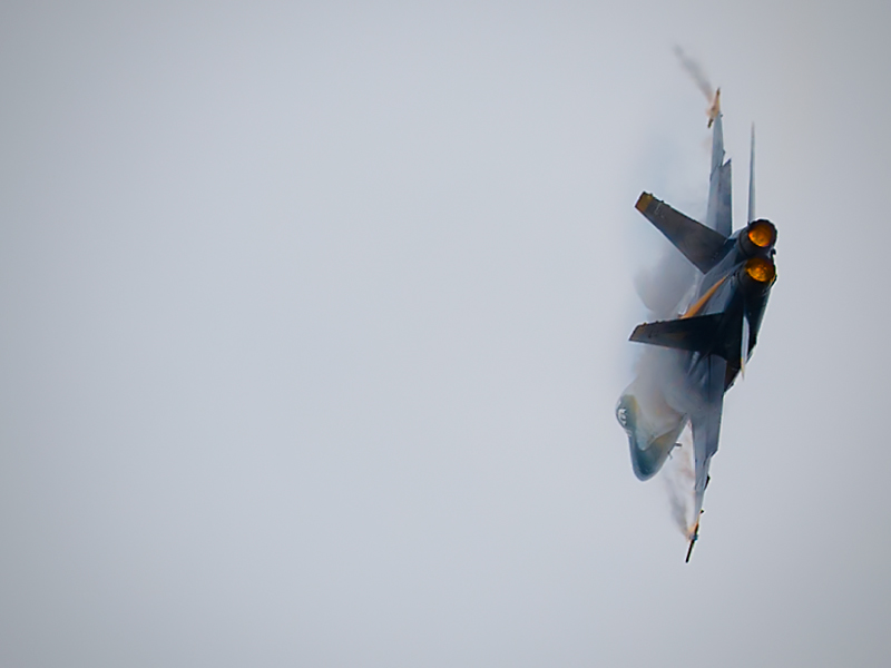 9 G Turn (With Afterburners)