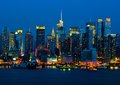Blue Hour - New York City