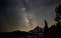 Milky Way Over Banner Peak