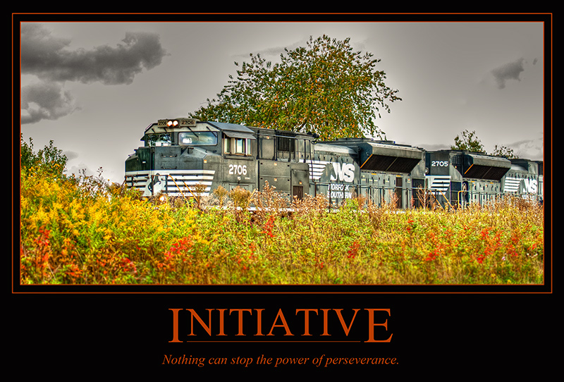 INITIATIVE - Nothing can stop the power of perseverance.