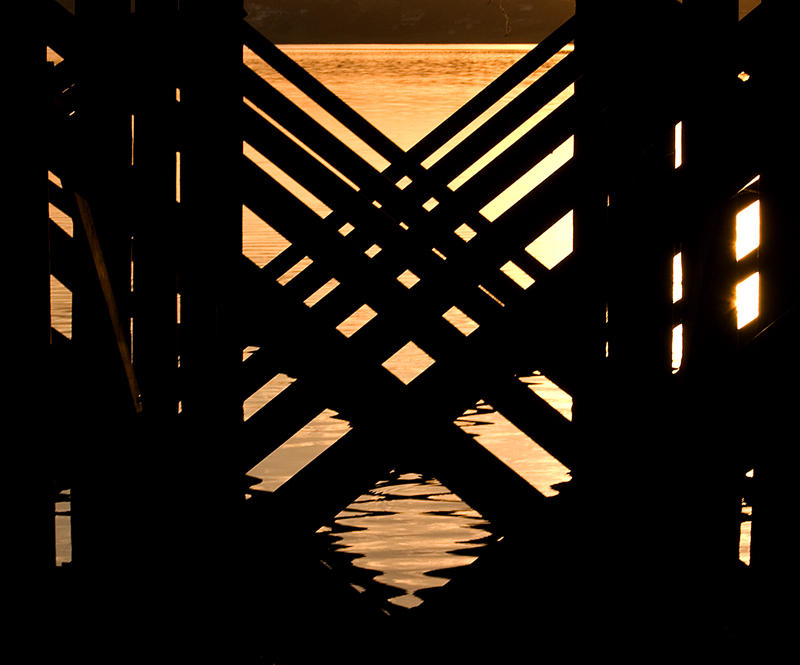 Sunrise Under The Dock