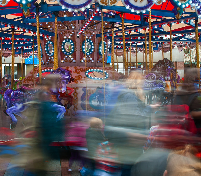 It's Not the Carousel That Spins - It's Only Yourself