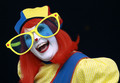 Clown with Glasses