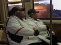 Twins on the Train