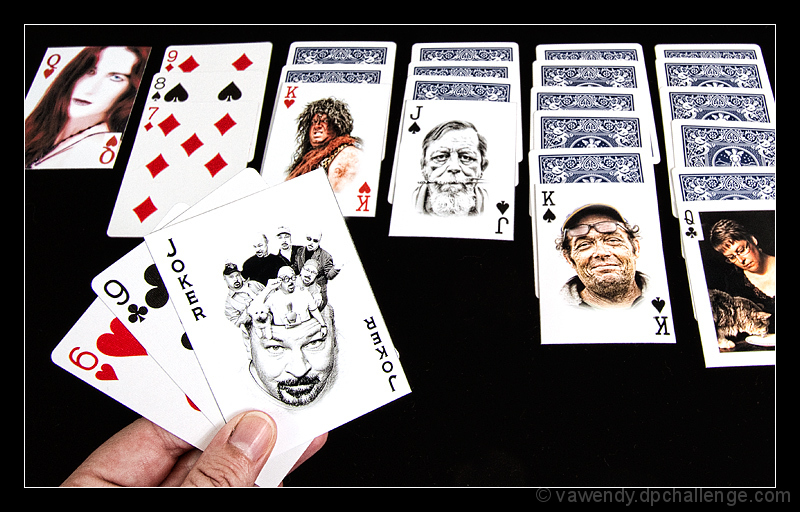 Who left the joker in the deck??