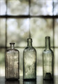 bottles in the window