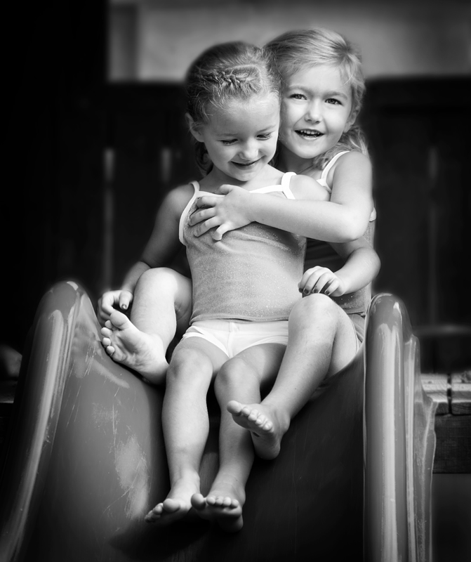 Best Friends on the Slide