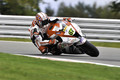 British Superbike Champion on the limit