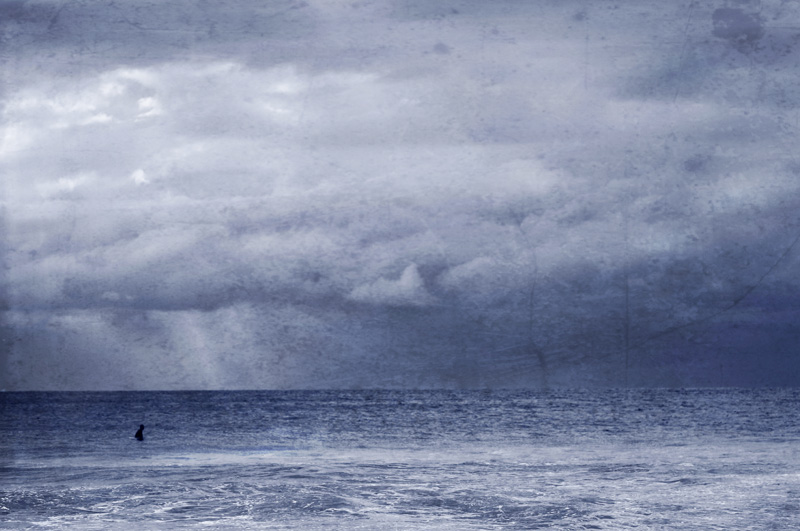 Lone Surfer..