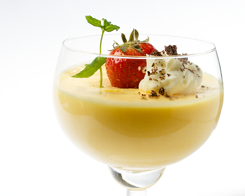 Mousse De Rompope, no party without food!