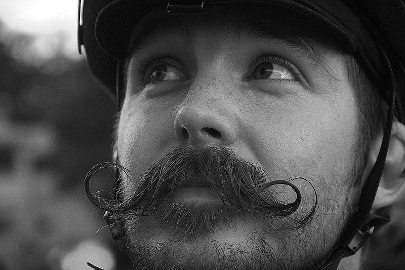 A love for handlebars