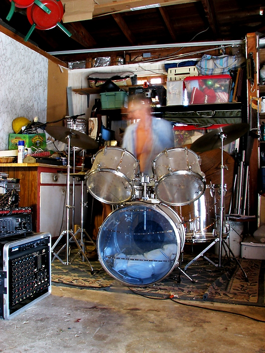 Garage Band Drummer