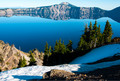 Crater Lake - Snow Topped Elegance