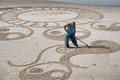 Circles and Curves - The Beach Artist