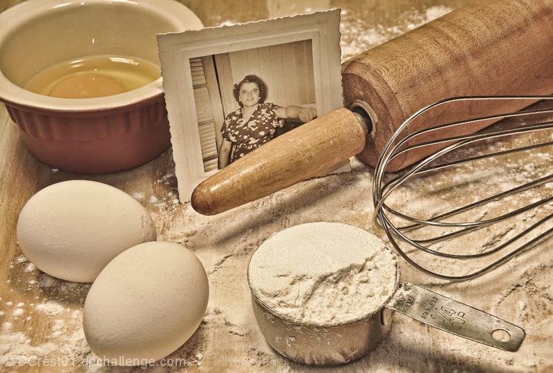 Learning to Bake with Grandmom (We miss you)