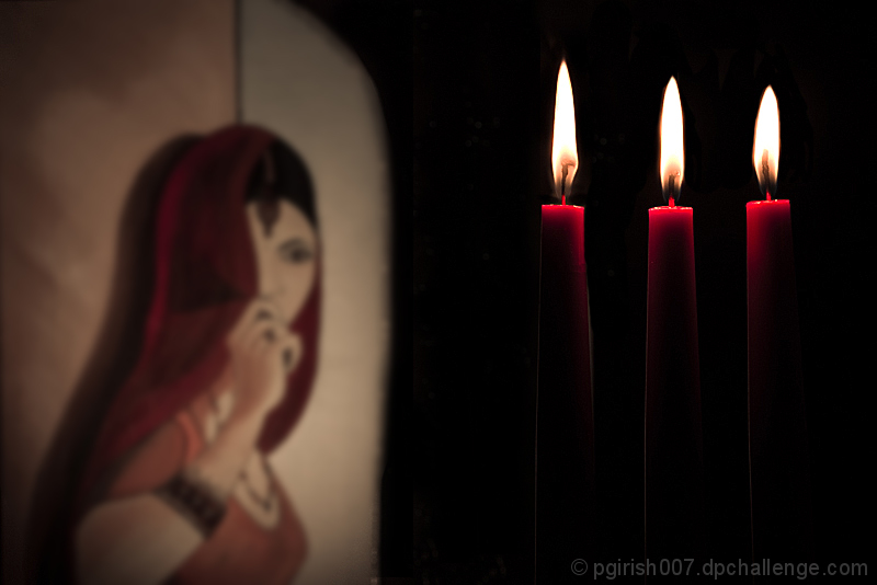 Better to light candle than to curse the darkness.