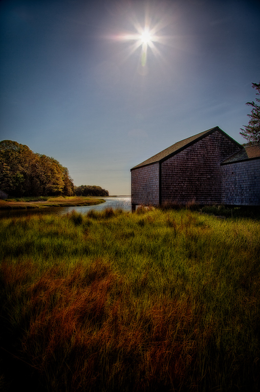 Boathouse, Salt Creek, Cape Cod National Seashore