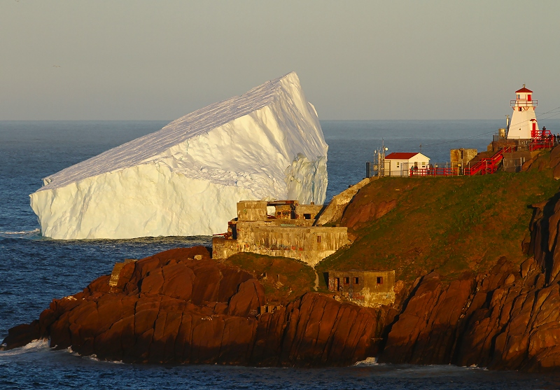 Evening at Fort Amherst