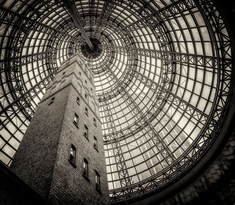 Shot Tower Preserved