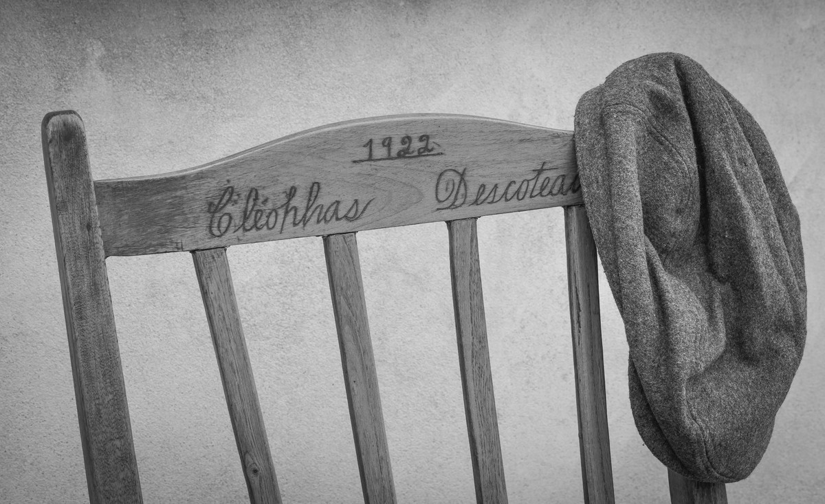 Rocking chair of my Grandfather