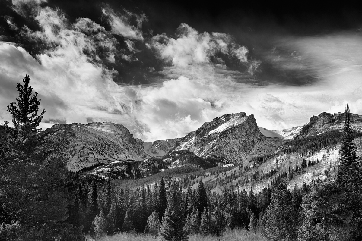 Clearing Storm: Glacier Gorge Junction