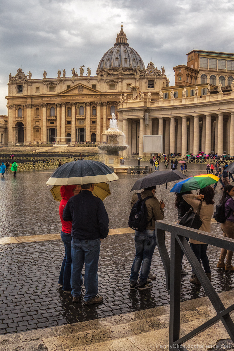 Undampened Anticipation: St Peter's Square