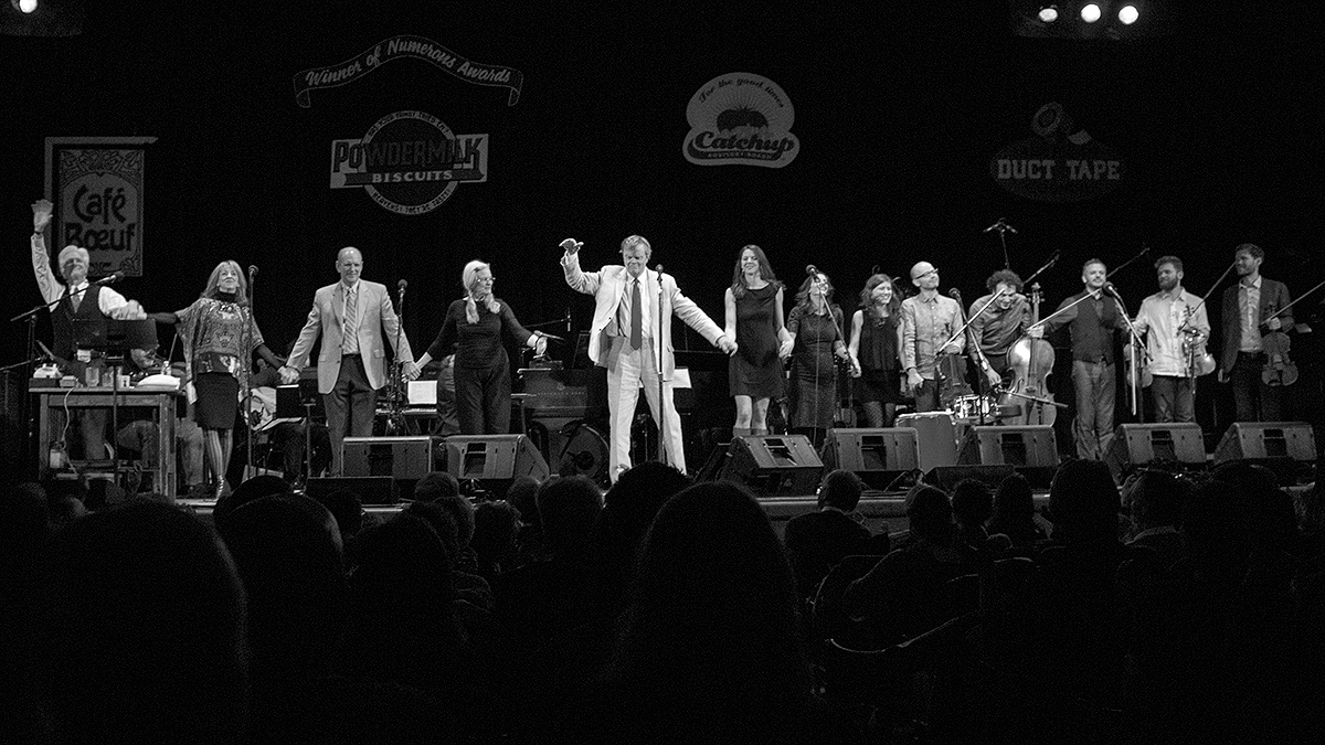 Prairie Home Companion Rocks Town Hall