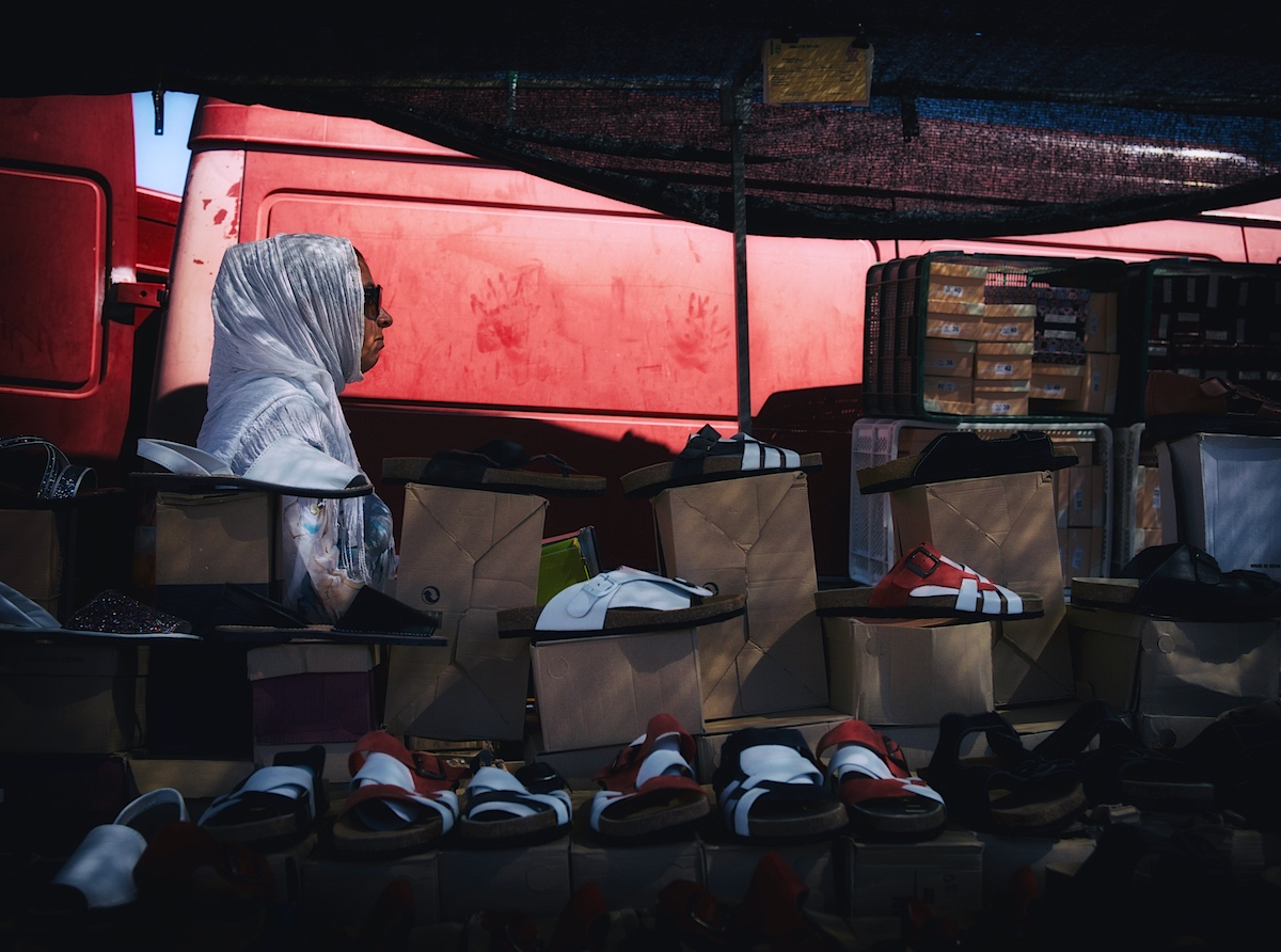 Seller of Shoes
