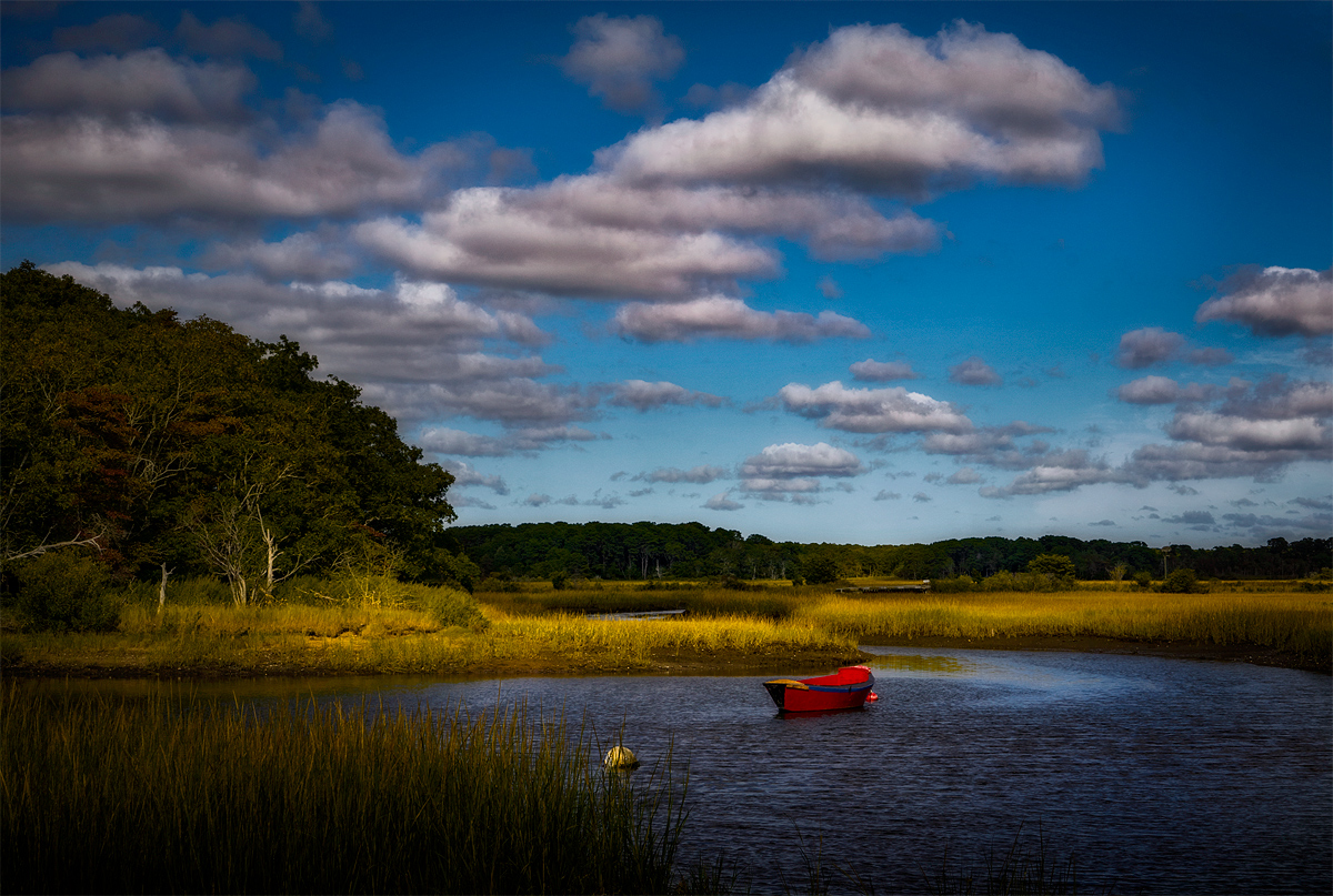 Salt Marsh, Autumn Afternoon