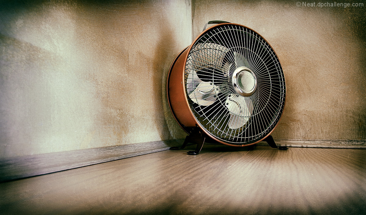 Copper fan