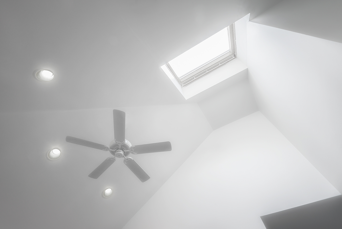 Skylight and Fan