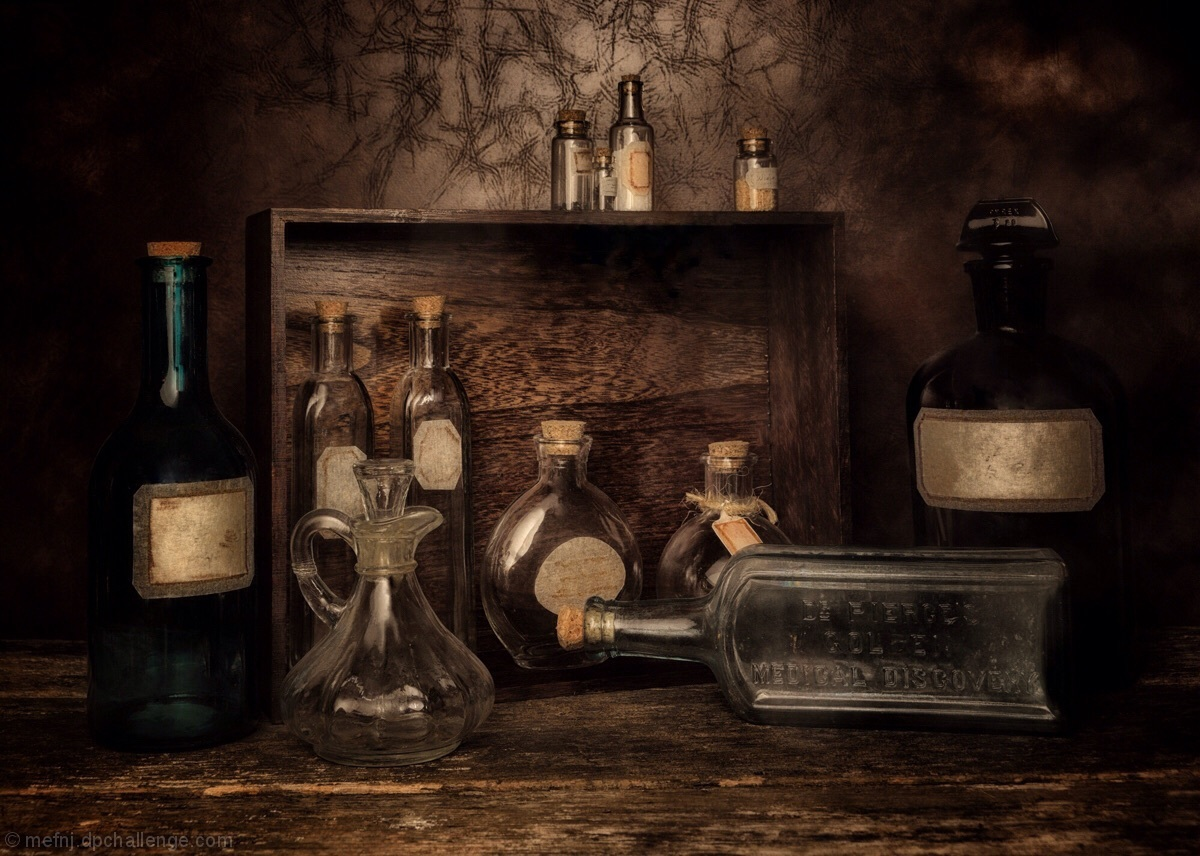 Bottles, Vials, and Vessels