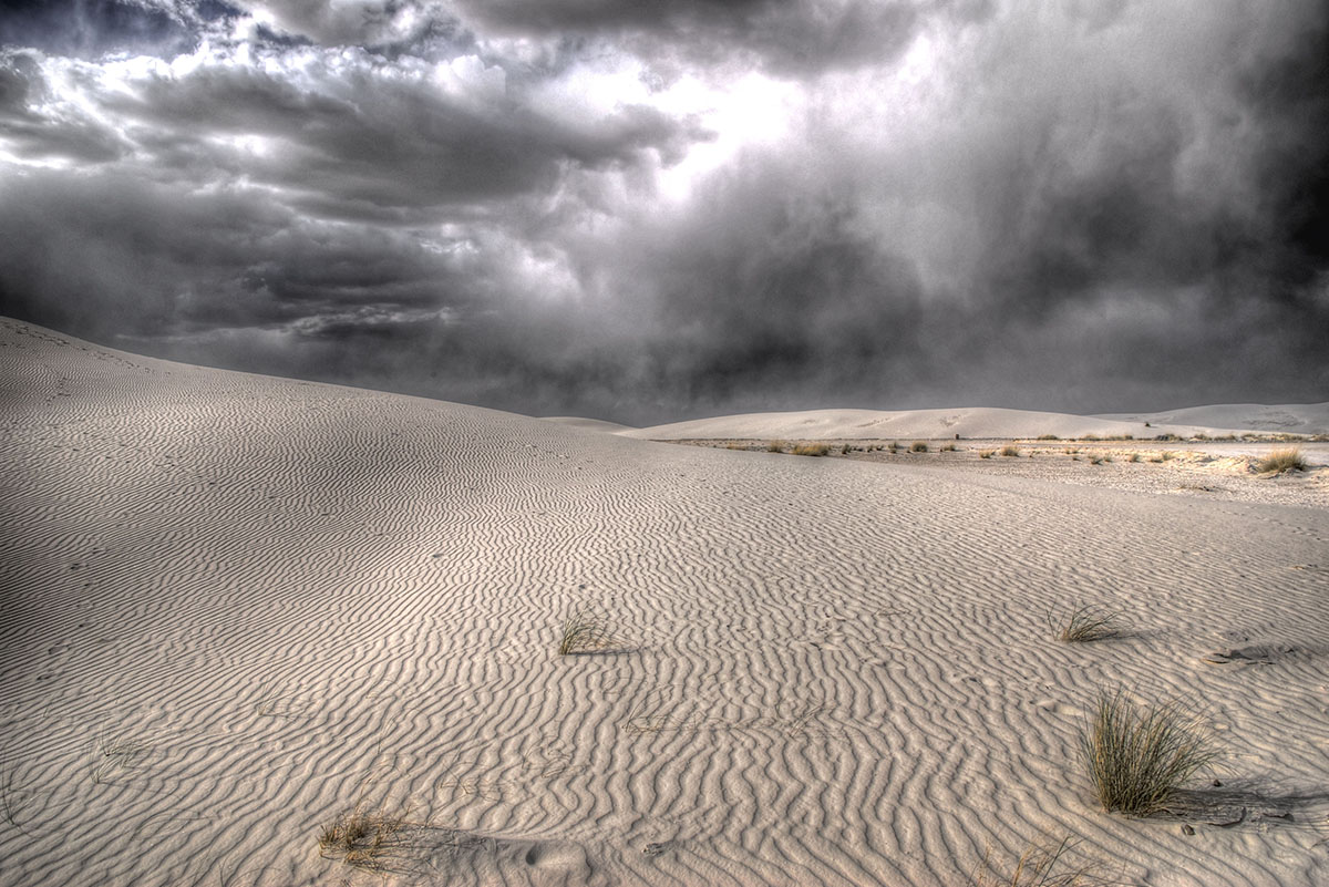 Dunes with Storms Approaching