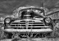 Old Chevrolet Fleetline put to pasture